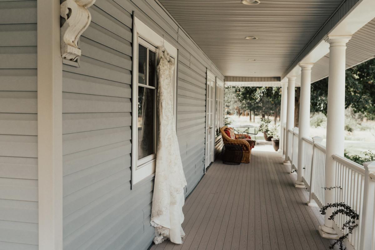 preparing house porch